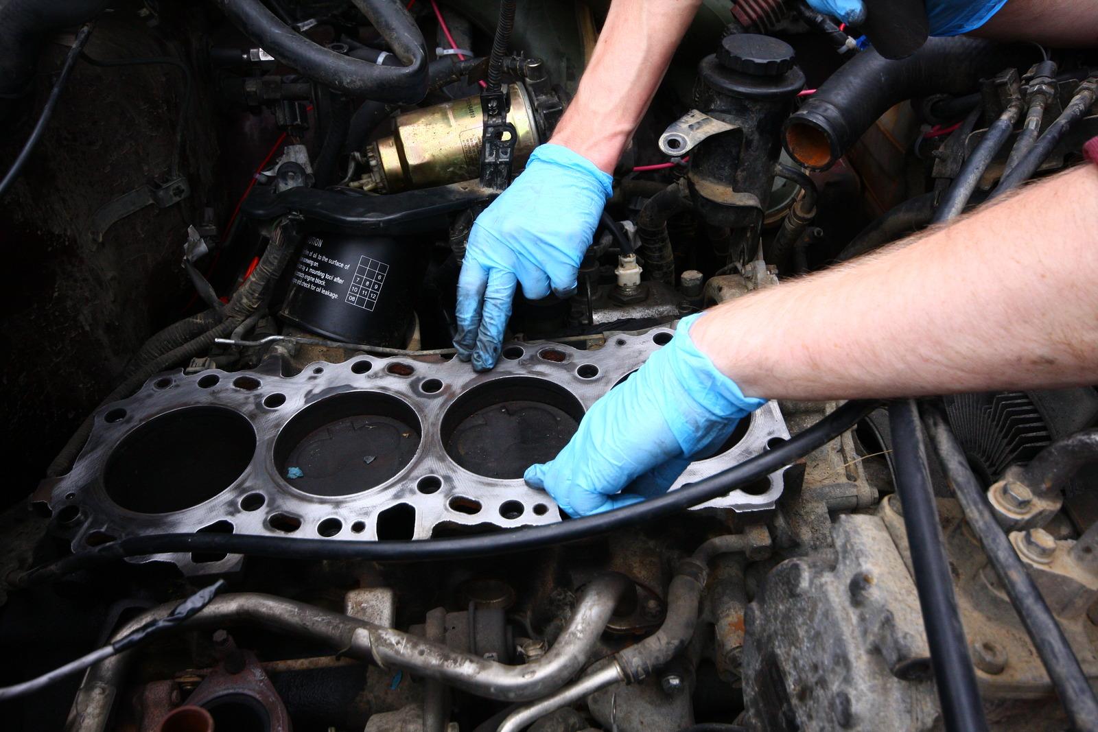 Замена дизельного двигателя своими руками 93