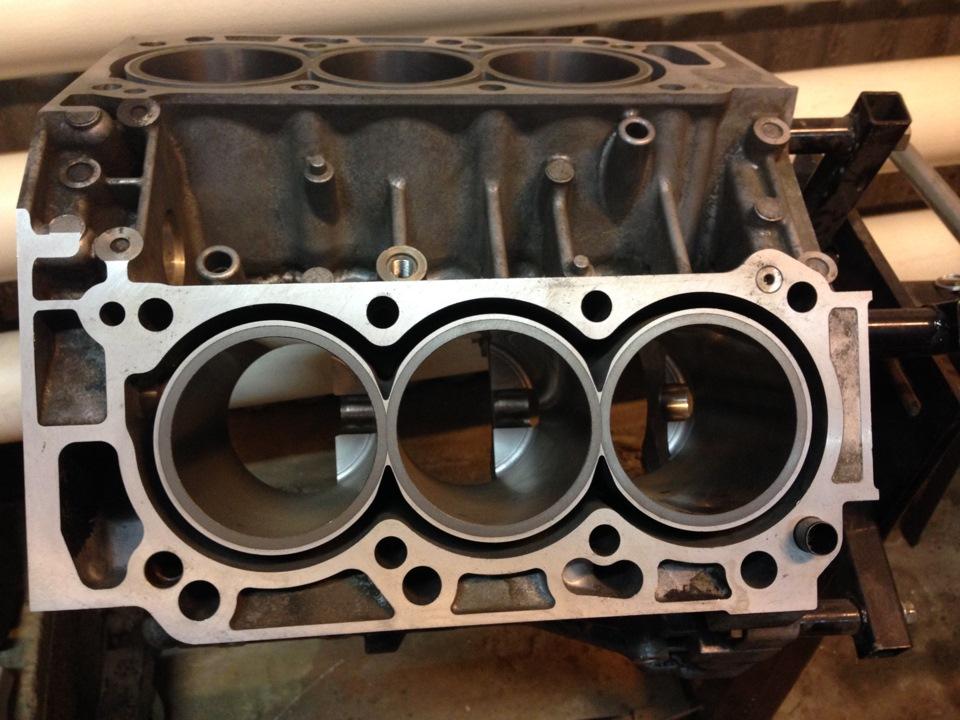 Гильзовка цилиндров двигателя автомобиля