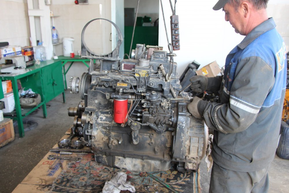 Ремонт дизельных двигателей