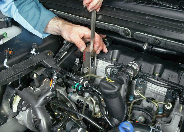 Замена форсунок двигателя
